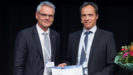 Markus Gerhard receives the DZIF Prize 2015