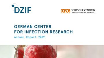Cover DZIF Annual Report 2019